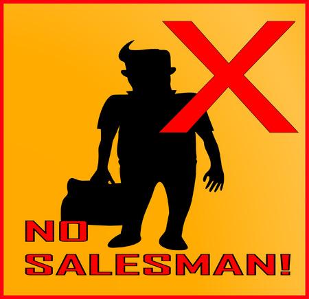 salesman: No salesman