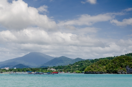 langkawi island: Beautiful sea view of Langkawi Island, Malaysia