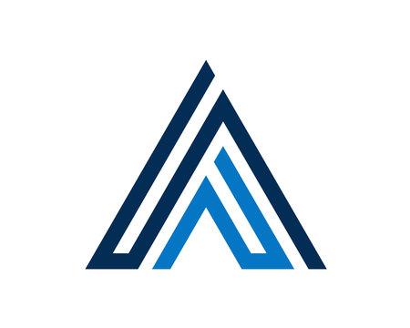 Simple letter logo Vector illustration.