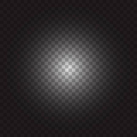 Square pattern black and white Ilustração