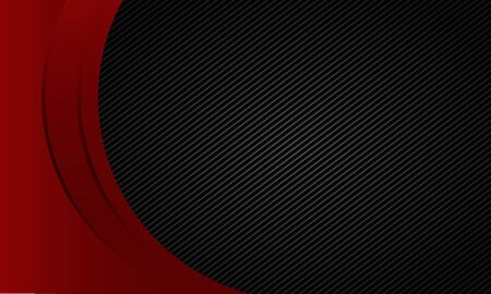 Red circle with black pattern background