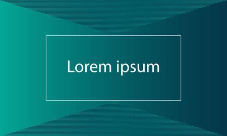 half tone  green shape with text Ilustração
