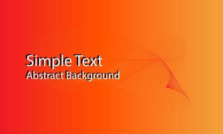 wave form blend with orange background