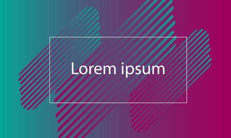 colorful shape with text background Ilustração
