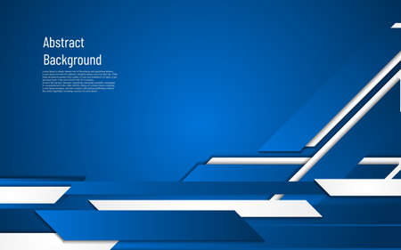 abstract  blue geometry element technology decoration creative