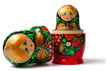muñecas rusas: Juguetes muñecas rusas también conocidos como Babushka o Matreshka