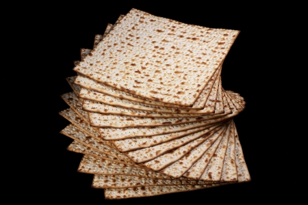 seyder: Matzot traditional passover food