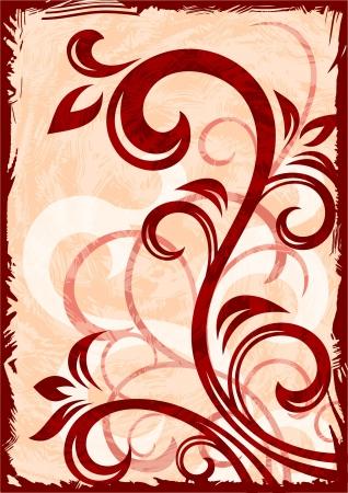 Abstract grunge purple vector background illustration  Illustration