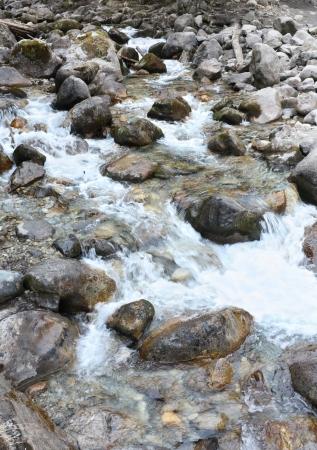 Rapid stream - Tiberda, Caucasus photo