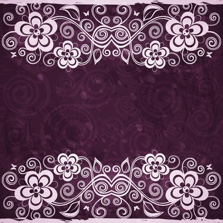 backdrop: Vintage floral backdrop.