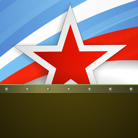 socialism: Vintage military background with russia army symbol.
