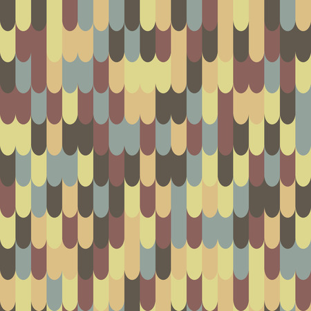seamless tile: Abstract seamless roof tile pattern Illustration