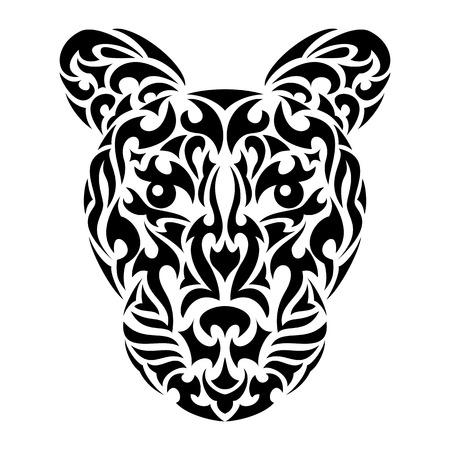 wildcat: Leopard Illustration