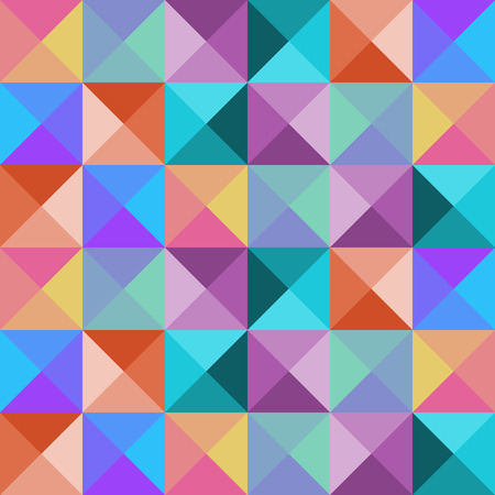 Bright seamless mosaic pattern. Background for cards, invitation, textile or wrapping paper.
