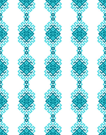 natty: Ethnic vector seamless pattern with traditional ornament elements. Background for card, wrapping paper or textile.