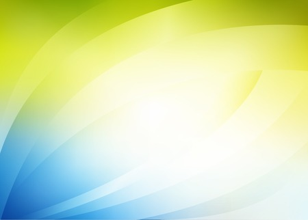 background image: Vector abstract green-blue background, light, leaf