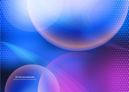 interstellar: vector dark background in the interstellar theme Illustration