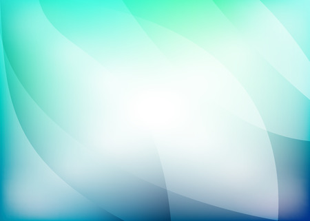 d�tente: vert bleu fond vecteur de fils de d�tente Illustration