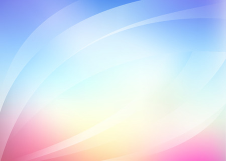 lightness: light vector background in blue, pink and light yellow Illustration
