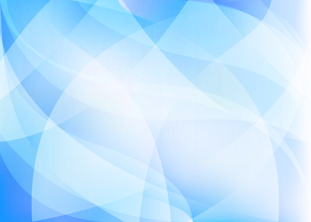 arcs: Vector light blue abstract background with arcs