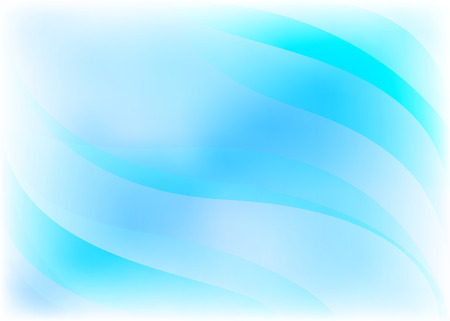 Vector light blue abstract background with waves