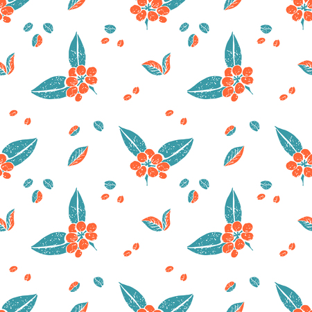 naive: Vector seamless pattern in naive style, teapots. Print for textile, menu, tableware and other decoration