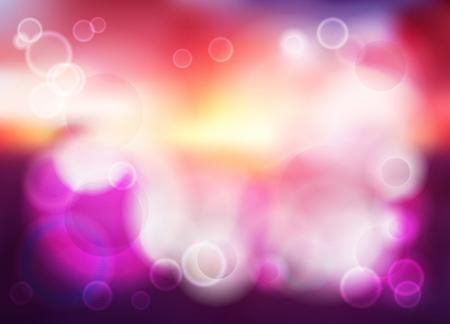 violette: Bokeh blur romantic purple vector backdrop