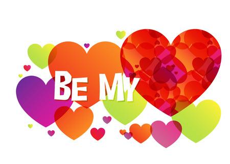 Be My Valentine, design for Valentine Day