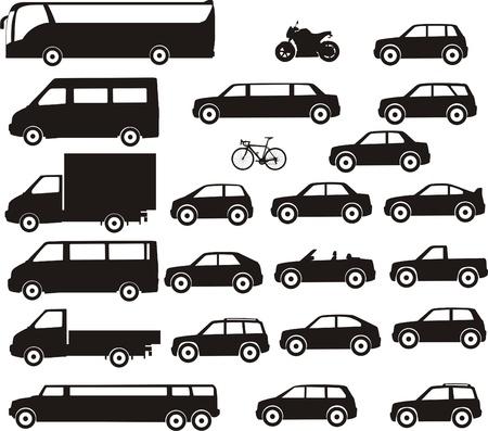 small car: urban transport Illustration