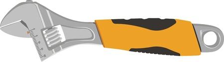 adjustable wrench Illustration