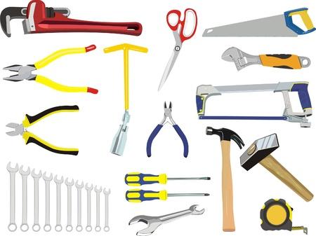 alicates: Un conjunto de herramientas de mano