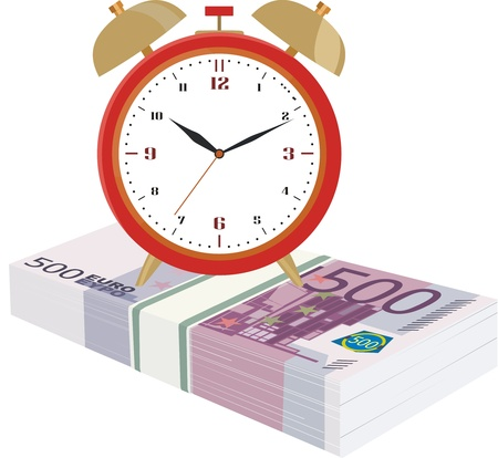pay money: Time is money