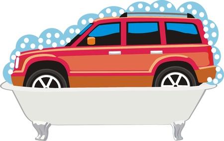 car wash Stock Vector - 10599655
