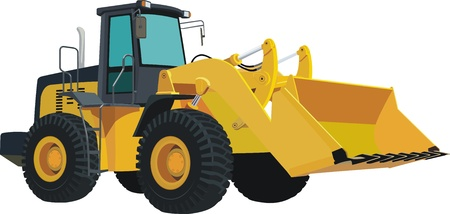wheel loader: Bulldozer