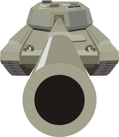 Tank Stock Vector - 10995722