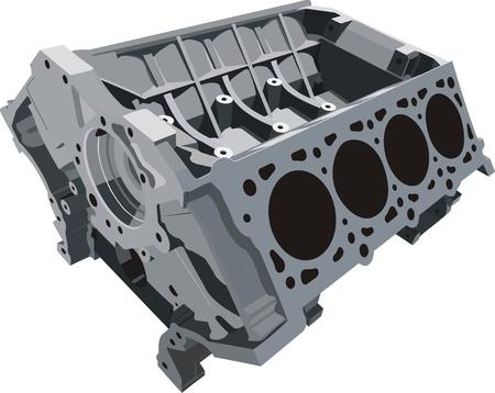 cilindro: bloque de cilindros