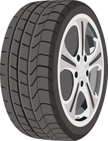 aluminum wheels: Rueda