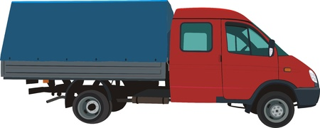 Mini truck Stock Vector - 11154741
