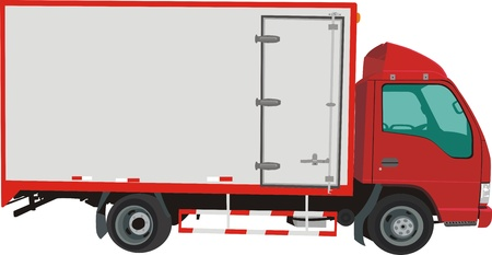 Lorry Stock Vector - 11154773