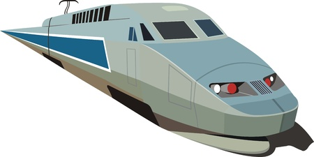 means of transport: speed train
