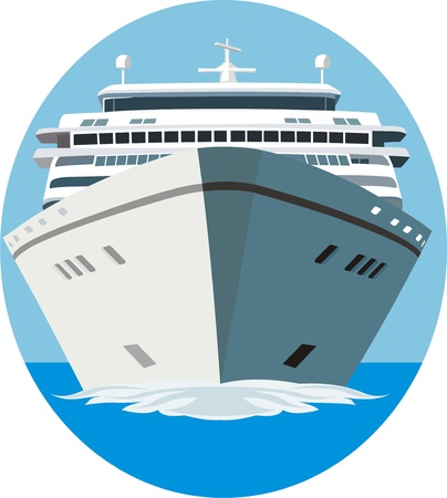 ship bow: Cruise ship