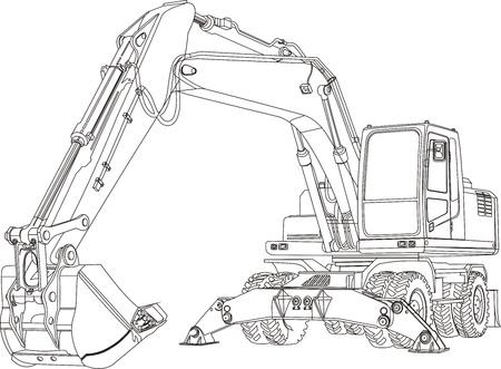 excavator Stock Photo - 11213487