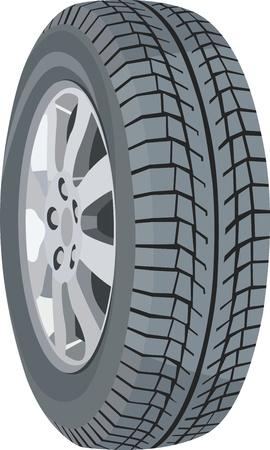 wheel Stock Vector - 12493476