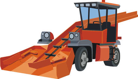 Snowblower Stock Vector - 12759305