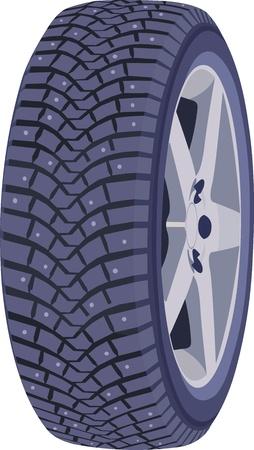 Wheel Stock Vector - 12759310