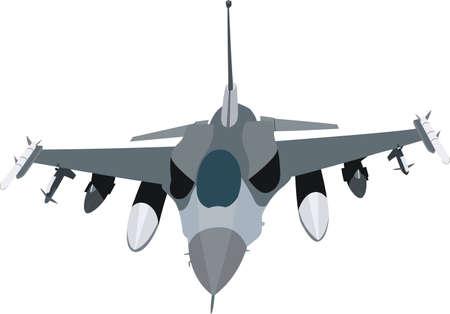 avion de chasse: Jet militaire