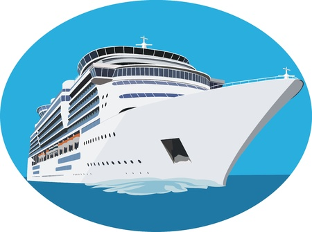 Cruise ship Stock Vector - 12920281