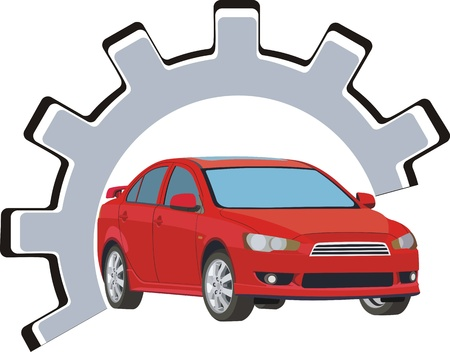 Car fix Vector
