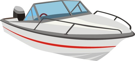power boat: Launch