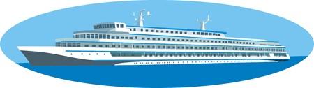 moor: Cruise ship